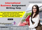 Business assignment writing services