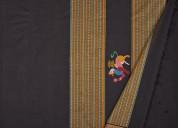 Kanchi cotton sarees by weavemaya