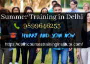 Summer training in delhi