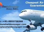 Book cheap flights tickets on call