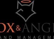 Brand design and management | foxnangel
