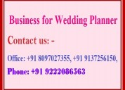 Business for wedding planner