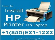 How to connect hp printer with laptop/macbook ?