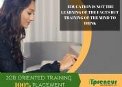 Best job oriented it training institutes in pune.