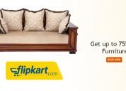 Flipkart coupons, deals & offers: get up to 75% of