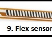 Flex sensor and iot projects trichy