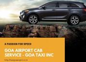 Calangute to goa airport taxi service
