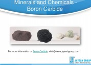 Boron carbide is one of the important element