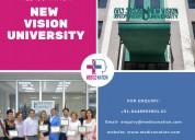 New vision university for mbbs