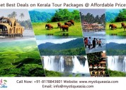 Book kerala tour packages in india