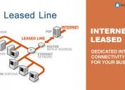 Leased line in noida (2mbps to 100mbps) - telecoms