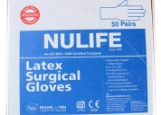 Sterile gloves for surgical purpose only from nuli