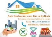 Well maintained restaurant is for sale at kolkata