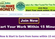 Job fair - govt registered - earn from home