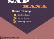 Sap hana online tutorial