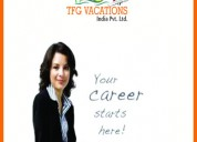Tourism company hiring now tfg vacations