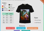 customized Bulk T-Shirt printing