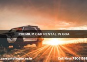 Self drive car rental goa airport - car rental inc