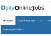 Simple copy paste jobs