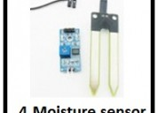 Moisture sensor and arduino  projects