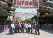 To know best water park in delhi jurasik park inn