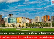 How can i legally apply for canada immigration?