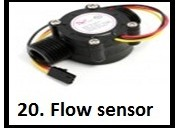 Flow sensor and rasberry-pi projects