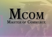 Distance master of commerce