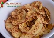 Fresh tasty apple chips company in kashmir