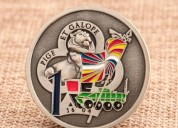 Military challenge coins | 35th infantry regiment