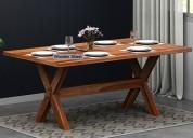 buy modern dining table in delhi upto 55% off