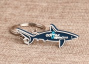 Shark pvc keychain