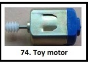 Toy motor and rssi projects