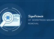 Significance of wordpress malware removal