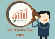 Axis focused 25 fund -be more focused about wealth