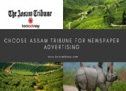 Release newspaper ads in assam tribune