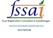 Fssai license registration consultant in gandhinag