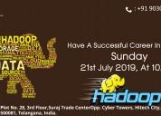 Free hadoop training demo on 21st july @ 10 am