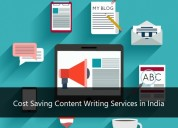 Cost saving content writing services in india