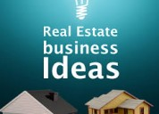 Real estate business ideas | +91-8368112806