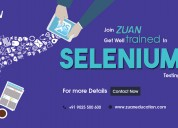 Best selenium testing online course training
