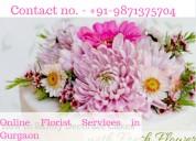 Online florist services in gurgaon