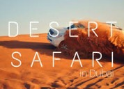 Desert safari deals by dream night tousrism