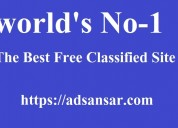 post free classified advertise in worldwide at ads