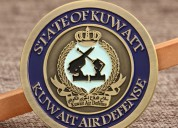 Custom coins | kuwait air force challenge coins