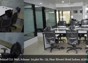 Affordable co-working space in indore