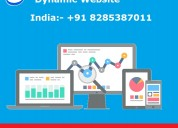 Dynamic website start from just 5999 inr