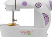 Machine for mending, hemming and basic sewing