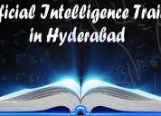Artificial intelligence training in hyderabad