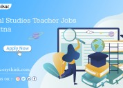 Grab the opportunity to become a sst teacher jobs